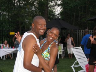 6/2008 (Our 20th Wedding Anniversary) -For 10 years, I wore my hair short. A barber cut it and I texturized my hair at home.