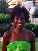 June 2012 in Cancun. Hair is not so bad after a day at the pool.