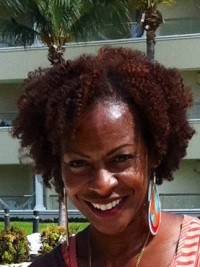 Cancun, Mexicio 6/2012 My curls holding up to the heat. I love this pic!