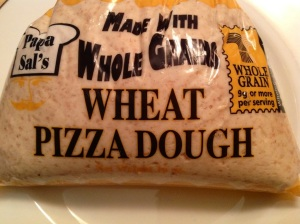 $1.09 for fresh pizza dough at Shoprite.