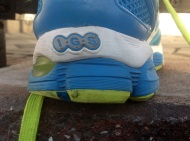 This is why I could not run today. My new sneakers did not come in yet, and these babies are too worn.