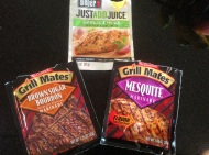Quick and tasty meat marinades. Sadly, I am going to stop using these... I carefully looked at the label... Not too good!