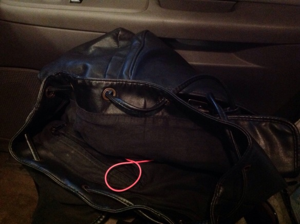 "Gloves, locks, my ipod, and other ""stuff"" fills my gym bag."