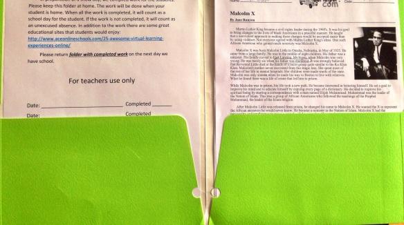 Snow folder assignments