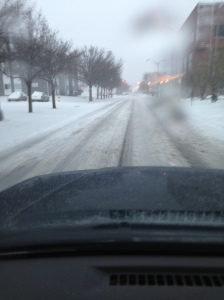 Atlantic City streets a little before 7 a.m.