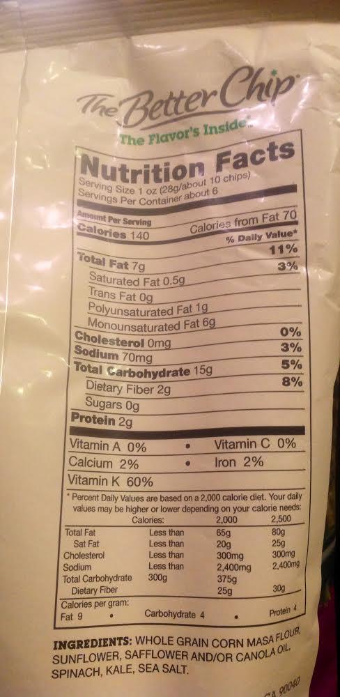 chip label