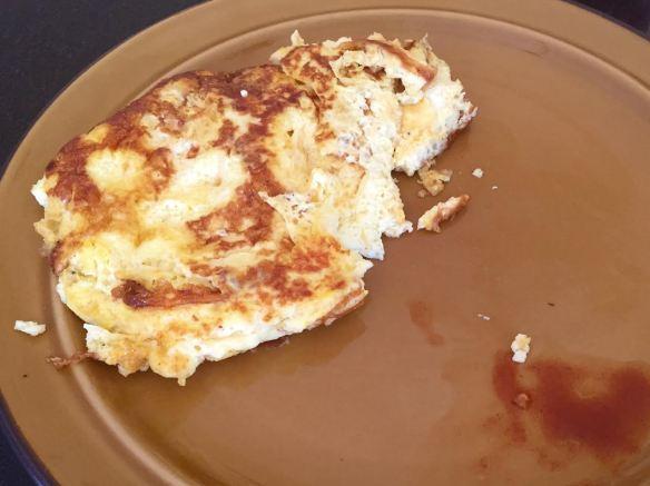Omelet and tobasco