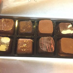 truffles in box