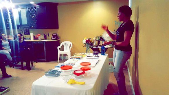 workshop Me speaking